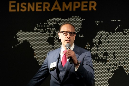 EisnerAmper London official launch event Robert Mirsky Image