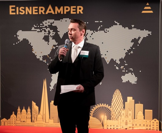 EisnerAmper London official launch event speaker Image